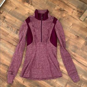Lululemon Ruffle Space Dye Jacket